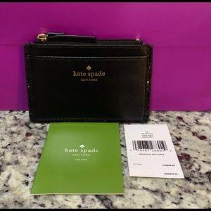 NWT Authentic Kate Spade leather Adi Mini Wallet